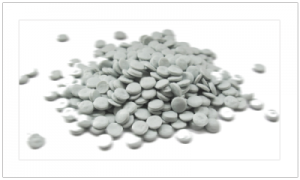 White Recycled HDPE